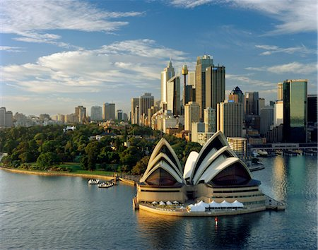 Sydney Opera House, Sydney, 1957. Architects: Jorn Utzon Stock Photo - Rights-Managed, Code: 845-04826544