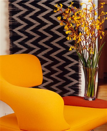funky flower designs - Interior details - ëOASIí Arm Chair by Frighetto. Designed by Designed by ëOASIí Arm Chair by Frighetto £1, 351, Built on shaped profiled steel frame Stock Photo - Rights-Managed, Code: 845-04826774