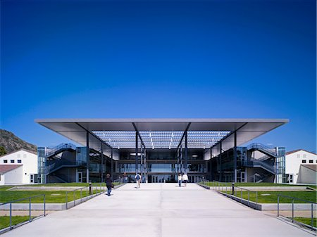 Broome Library, Camarillo, California. Architects: Foster and Partners Stock Photo - Rights-Managed, Code: 845-04826807