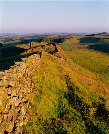 simsearch:845-03720933,k - Hadrian's Wall, Northumberland - Housesteads - Roman Stock Photo - Rights-Managed, Code: 845-04827107