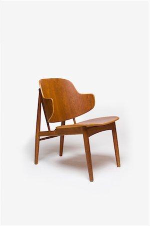 Chair, Swedish, 1950s, manufactured by Christensen and Larsen. Designer: Ib Kofoed Larsen Stock Photo - Rights-Managed, Code: 845-06008165