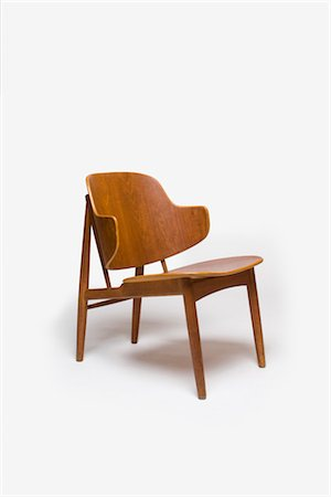 Chair, Swedish, 1950s, manufactured by Christensen and Larsen. Designer: Ib Kofoed Larsen Stock Photo - Rights-Managed, Code: 845-06008165