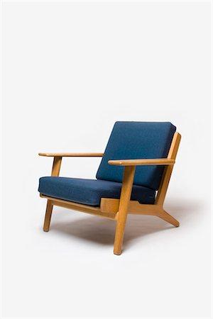 GE-290 Armchair, Danish, 1960s, manufactured by Getama. Designer: Hans J Wegner Stock Photo - Rights-Managed, Code: 845-06008162