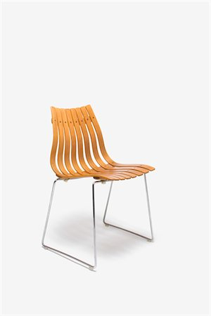 Low Back Scandia Rosewood Dining Chair, Norwegian. Designer: Hans Brattrud Stock Photo - Rights-Managed, Code: 845-06008195