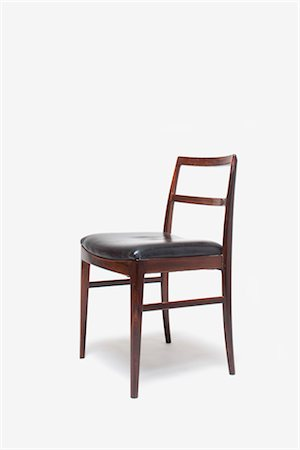 No. 24 Rosewood Dining Chair, Danish, manufactured by Sibat. Designer: Arne Vodder Stock Photo - Rights-Managed, Code: 845-06008197