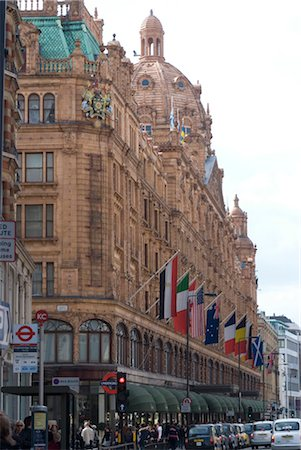 european union - Harrod's Department Store, Knightsbridge, London Sw3. Architects: Charles William Stephens Stock Photo - Rights-Managed, Code: 845-06008266