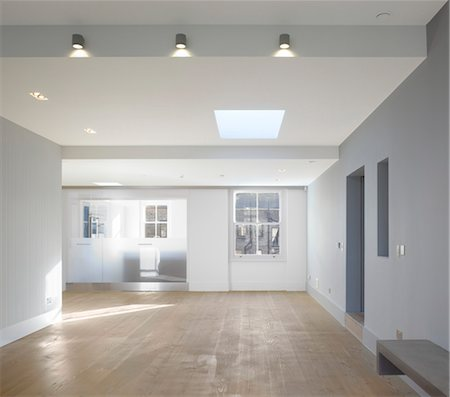 Flat in Courtfield Gdns. Architects: Paul Archer Design Stock Photo - Rights-Managed, Code: 845-06008298