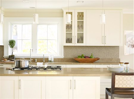 Kitchen in Sandstone, Minnesota, USA. Stock Photo - Rights-Managed, Code: 845-07561475