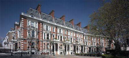 front row seat - Housing, Kensington, London. Stock Photo - Rights-Managed, Code: 845-02725873