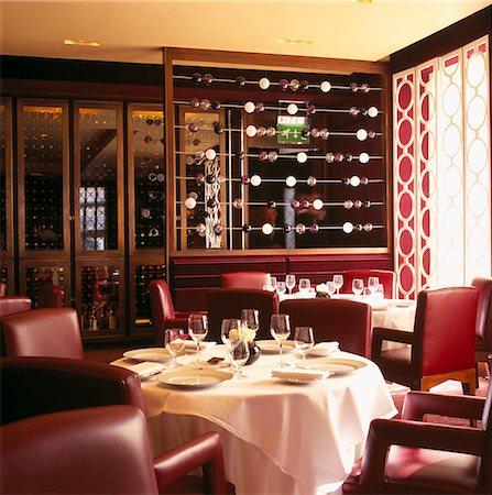 statue of david - Petrus Restaurant, Berkely Hotel, Knightsbridge, London. Architect: Interiors: David Collins. Stock Photo - Rights-Managed, Code: 845-02728905