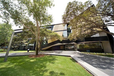 University of New South Wales, Faculty of Law, Sydney, Australia.  Architect: Lyons. Stock Photo - Rights-Managed, Code: 845-02729020