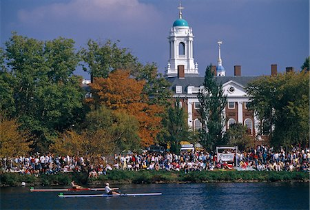 Harvard University, Cambridge, Massachusetts Stock Photo - Rights-Managed, Code: 845-02729515