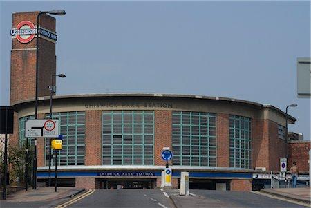 Chiswick Park underground station, Chiswick, London Stock Photo - Rights-Managed, Code: 845-03463855
