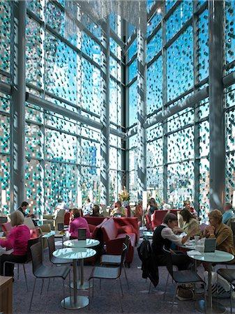 John Lewis Store, Cardiff.  Architects: Ericsson Architects Stock Photo - Rights-Managed, Code: 845-03553181