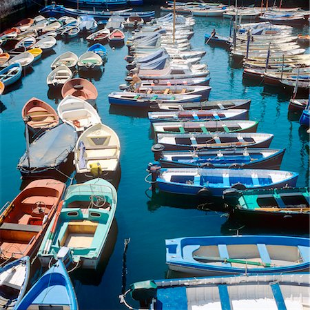 Pais Vasca, San Sebastian, boats in fishermen's port. Stock Photo - Rights-Managed, Code: 845-03720947