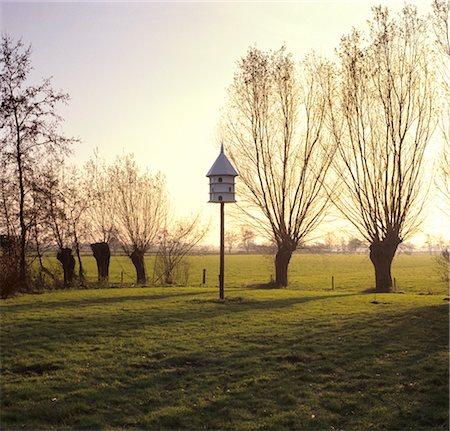Gelderland, pigeon-house in a garden near Nijkerk. Stock Photo - Rights-Managed, Code: 845-03720985