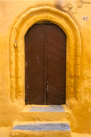 Wooden door, Rhodes Old Town, Greece. Stock Photo - Rights-Managed, Code: 845-03777708
