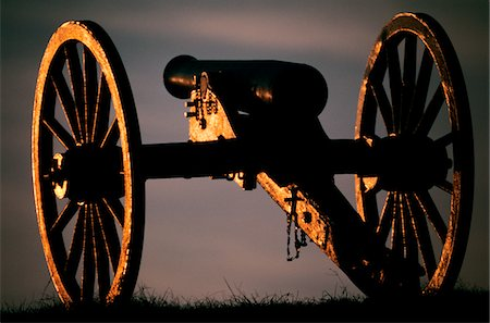 1860s SILENT AMERICAN CIVIL WAR ARTILLERY CANNON BULL RUN BATTLEFIELD VIRGINIA USA Stock Photo - Rights-Managed, Code: 846-05646999
