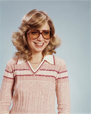 1970s PORTRAIT WOMAN WEARING TINTED EYEGLASSES Stock Photo - Rights-Managed, Code: 846-05646990
