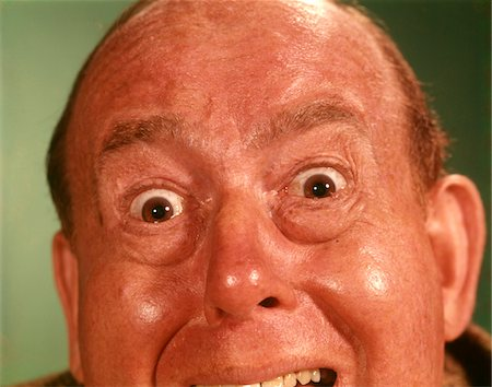 extremism - 1960s PORTRAIT MAN FOREHEAD TO CHIN SILLY WACKY FUNNY FACIAL EXPRESSION BIG EYES OPEN MOUTH MAD ANGRY UPSET IRATE Stock Photo - Rights-Managed, Code: 846-05647280