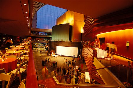PHILADELPHIA PA INTERIOR OF KIMMEL CENTER FOR THE PERFORMING ARTS Stock Photo - Rights-Managed, Code: 846-06112094