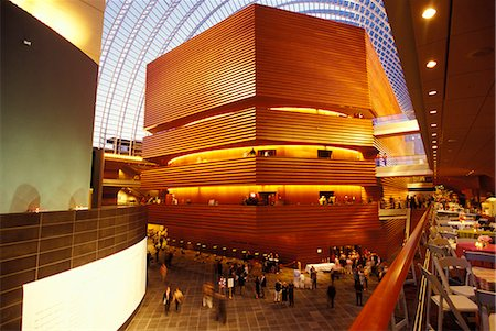 PHILADELPHIA PA INTERIOR OF KIMMEL CENTER FOR THE PERFORMING ARTS Stock Photo - Rights-Managed, Code: 846-06112092