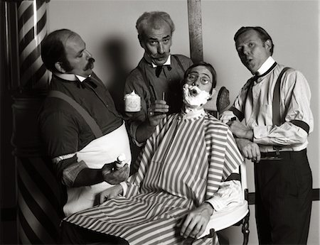 simsearch:846-02793283,k - 1970s BARBERSHOP QUARTET Stock Photo - Rights-Managed, Code: 846-02795647