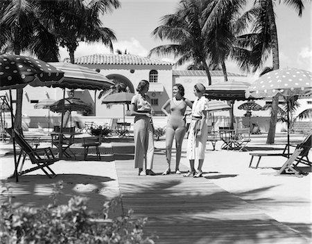south - CABANA CLUB NAUTILUS HOTEL MIAMI BEACH RETRO 1930 1930s Stock Photo - Rights-Managed, Code: 846-02796554