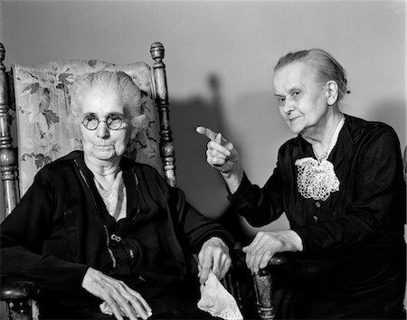 Image result for two elderly gossips