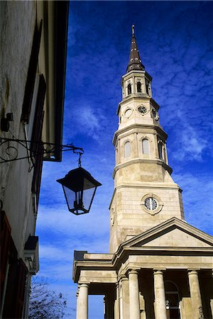 ST. PHILIPS EPISCOPAL CHURCH BUILT 1838 CHARLESTON, SC Stock Photo - Rights-Managed, Code: 846-03164032