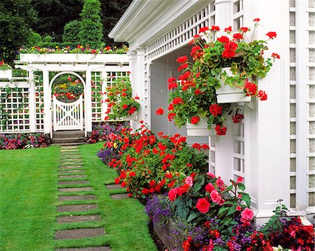 BUTCHART GARDENS AT BRENTWOOD BAY VANCOUVER ISLAND BRITISH COLUMBIA, CANADA Stock Photo - Rights-Managed, Code: 846-03164501