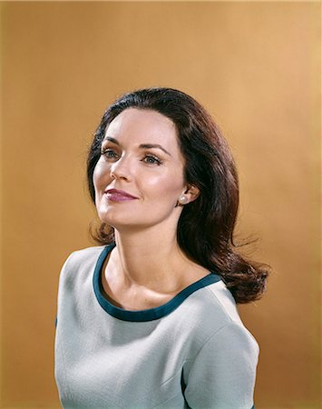 1970s WOMAN SMILE PORTRAIT Stock Photo - Rights-Managed, Code: 846-03164535