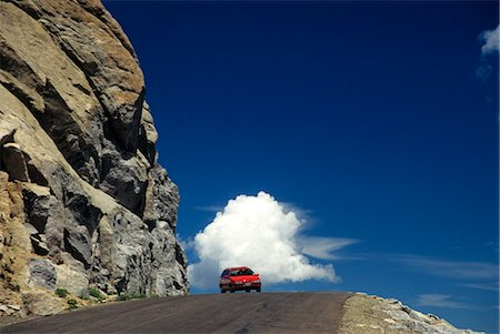 COLORADO MT. EVANS HIGHWAY HIGHEST PAVED ROAD IN NORTH AMERICA Stock Photo - Rights-Managed, Code: 846-03164958
