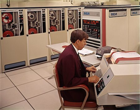 1970s COMPUTER PRINTER Stock Photo - Rights-Managed, Code: 846-03165140