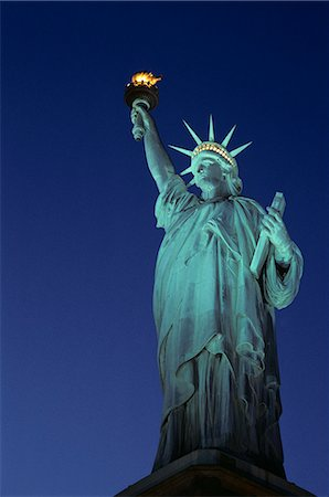 STATUE OF LIBERTY NEW YORK CITY, NEW YORK Stock Photo - Rights-Managed, Code: 846-03165703