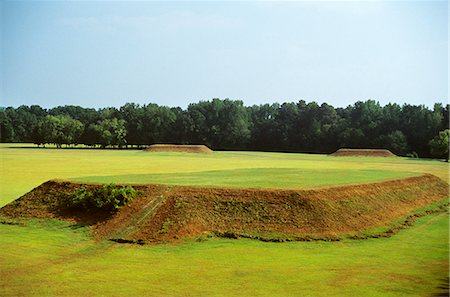 MOUNDVILLE ALABAMA MOUNDS MADE BY MISSISSIPPIAN INDIANS Stock Photo - Rights-Managed, Code: 846-03163176