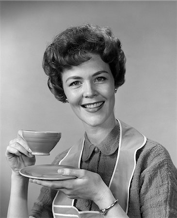 1960s WOMAN COFFEE TEA HOUSEWIFE Stock Photo - Rights-Managed, Code: 846-03163293