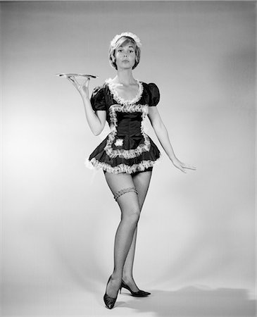 1960s FRENCH MAID COSTUME Stock Photo - Rights-Managed, Code: 846-03163319