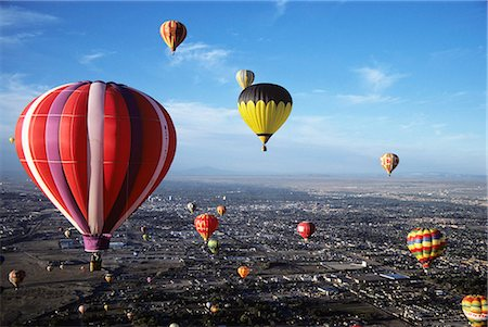 1980s BALLOON FIESTA ALBUQUERQUE, NM Stock Photo - Rights-Managed, Code: 846-03163647