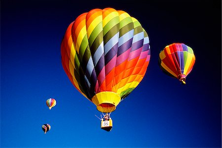 HOT AIR BALLOONS Stock Photo - Rights-Managed, Code: 846-03163660