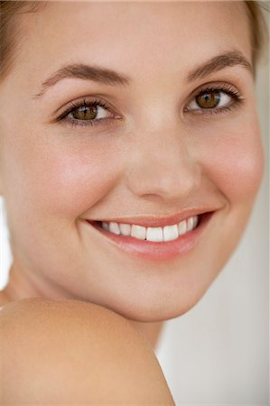 Beautiful young woman close up Stock Photo - Rights-Managed, Code: 847-06540639