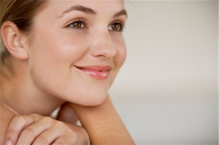 Beautiful young woman close up Stock Photo - Rights-Managed, Code: 847-06540643