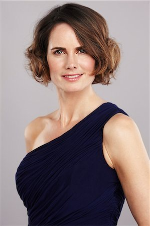 Portrait of an elegant 40 year old woman Stock Photo - Rights-Managed, Code: 847-08522877