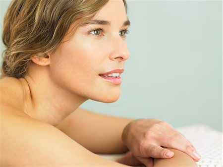 Landscape of woman with radiant skin Stock Photo - Rights-Managed, Code: 847-02782061