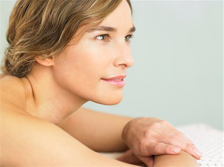 Landscape of woman with radiant skin Stock Photo - Rights-Managed, Code: 847-02782063