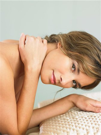 Portrait of woman with radiant skin Stock Photo - Rights-Managed, Code: 847-02782082