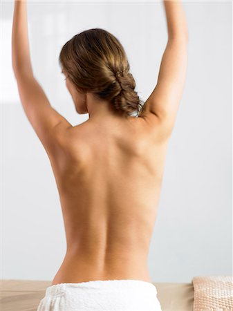 Naked back of beautiful woman Stock Photo - Rights-Managed, Code: 847-02782207