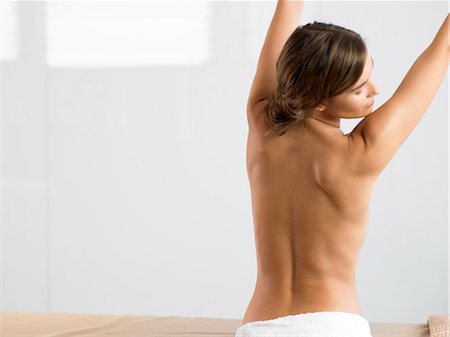 Naked back of beautiful woman Stock Photo - Rights-Managed, Code: 847-02782209