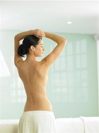 Beautiful back shot of woman Stock Photo - Rights-Managed, Code: 847-02782377