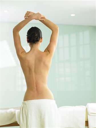 Beautiful back shot of woman Stock Photo - Rights-Managed, Code: 847-02782372